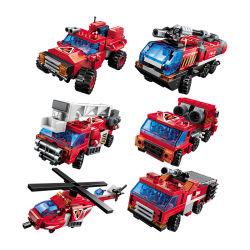 Qman Educational Blazing Mars Robot Transform Car Plastic ABS Building Block Kids Toy