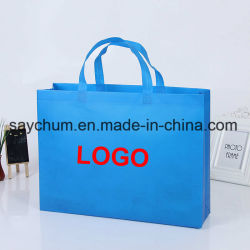adbcaf2ddc2a Promotional Customize Non Woven Eco Friendly Foldable Reusable Shopping Bag