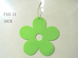 Easter Felt Flower Hanger Craft Decoration
