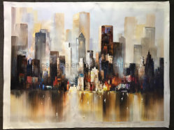 Large Wall Decoration Handmade Canvas Art Painting Online for Bedroom Decor