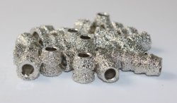 Vacuum Brazed Beads for Stone Quarry and Block Diamond Wire Saw Cutting
