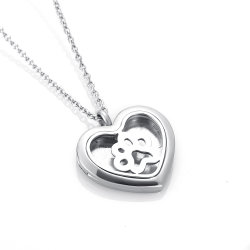 China magnetic necklace pendants magnetic necklace pendants dogcat paw stainless steel heart magnetic open aromatherapy locket aloadofball Images