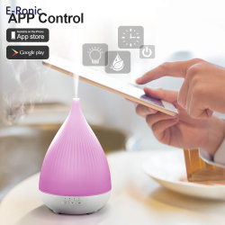 Smart Ultrasonic Oil Diffuser Humidifier Worked with Alexa Echo Electric Oil Diffuser