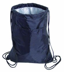 New Style Fashion Sport Drawstring Cooler Bag with 3mm PE Foam and Aluminum Film
