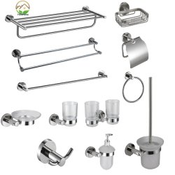 Premium Full Selection of Bathroom Accessory for Hotel Decor