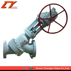 Hot Sale High Quality Y Type Slurry Knife Gate Valve