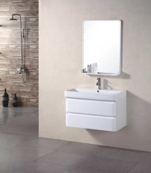 Modern Wall Mounted Wholesale PVC Bathroom Cabinet with Mirror