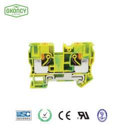 16mm2 Large Current Ground Dinrail Terminal/Terminal Connector/Cable Terminal Blocks with UL