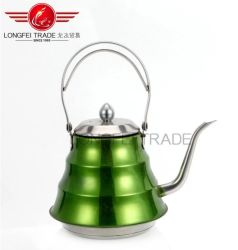 1.2L Stainless Steel Wer Jug with Colour Painting Stainless Steel Kettle