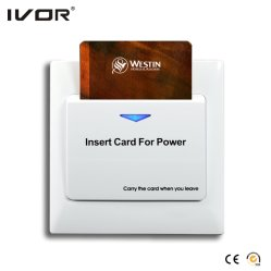 Hotel Room Card Key Power Switch Energy Saver RFID Card Switch Plastic Frame (SK-ES2000M1)