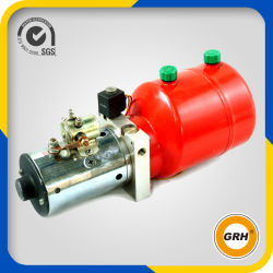 DC 12V Motor Hydraulic Pump Electric Double Acting Mini Hydraulic Power Pack for Fork Lift Truck