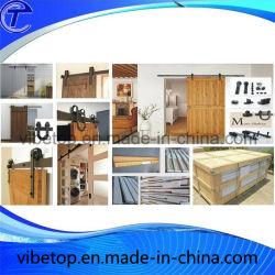 Solid Wood Glass Barn Door Hardware