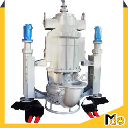 Wear Resistant Submersible Slurry Pump with Agitator for Sale