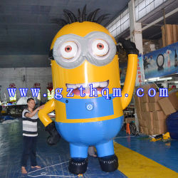 Inflatable Cartoon Model/Small Yellow People Inflatable Cartoon