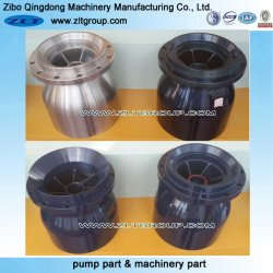 Centrifugal Pump Sand Casting Bowl in Cast Iron with Painted/Rough/Enamelled