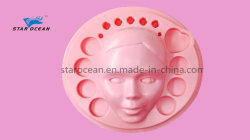 Pink Plastic Vacuum Forming Packaging Tray