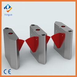 Bidirectional Flap Barrier Gate Automation Turnstile RFID Door Entry System