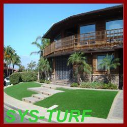 Artificial Garden Grass with Brown Curly Grass Yarn