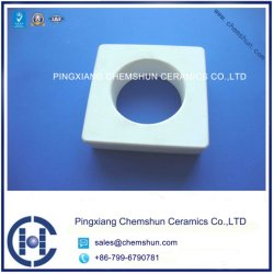92% Alumina Ceramic Brick with Hole From Industry Ceramic Manufacturer