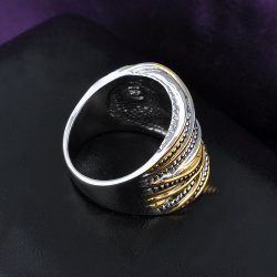 Marcasite Ring Black Stone Agate Jewelry Vintage Ring
