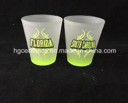 Color Bottom Shot Glass, Spray Color Bottom Shot Glass