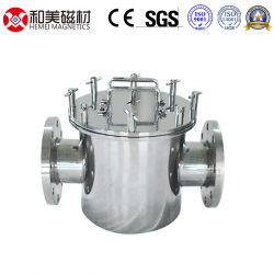 Liquid Pipe Pipeline Use Magnetic Filter Permanent Magnetic Separator