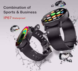 Lemfo Lemx Android 7.1.1 OS 4G Smartwatch with 8MP Camera 2.03 Inch Screen GPS Bluetooth Heart Rate Monitor Sports Modes