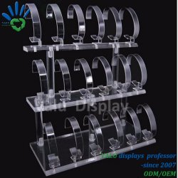 Customized Acrylic Watch Box Acrylic Watch Display Stand C Clip