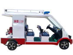 Hot Sale Five Seaters Electric Vehicle Fire Engine