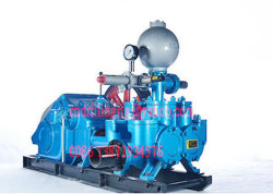 Bw850/2 Deep Hole Drilling Mud Pump, Hydraulic Driven Plunger Triplex Heavy Duty Slurry Pump