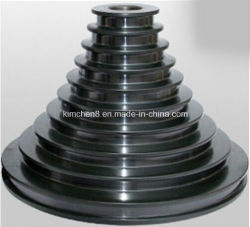 Chrome Oxide Coated Step Pulleys/Wire Drawing Capstans (Ceramic Coating Tower Pulleys)