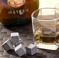 Velvet Bag Whisky Rocks Ice Wine Stone (SR7895)