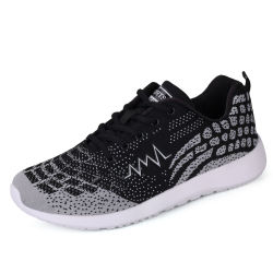 Best Selling Products 2017 in USA Knitting Mens Running Shoes, Men's Sports Running Shoes
