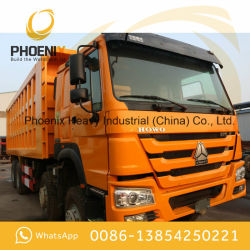 Low Price Used HOWO Dump Truck 12 Tyres 371HP 40tons Excellent Condition Use for Africa