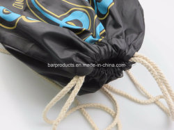 Polyester Cheap Promotional Printed Sport Backpack Drawstring Bag