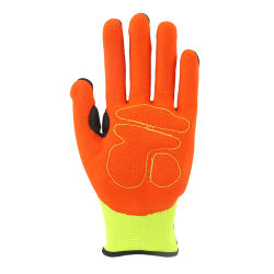 Factory Anti-Slip Gloves, Industrial Anti-Impact Sports Mechanical Latex Safety Work Gloves