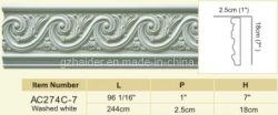 Decoration Polyurethane Crown Molding Cornice Moulding, Chair Rail