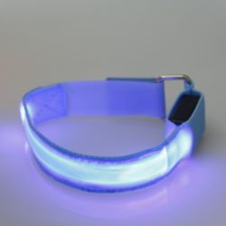 Custom Logo Sport Safety LED Armband for Running