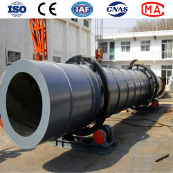 Small Rotary Dryer for Sand, Gypsum and Coal Slurry Drying