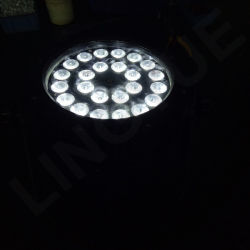 Outdoor IP65 DMX Wall Wash PAR 64 LED 24 UV