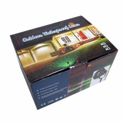 Red & Green Laser Christmas Lights for Outdoor Waterproof