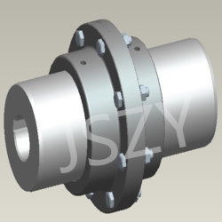 Jszy High Quality Curved Tooth Gear Coupling with ISO 9001