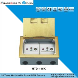 Horizontal Installation Floor Receptacle/Power Socket