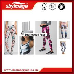 Adhesive Anti-Curled Fms105GSM Sublimation Paper for Sportwear