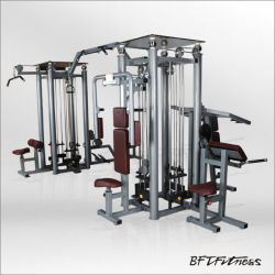 Commercial Eight Station Multi-Function Sports Gym Equipment Fitness Machine