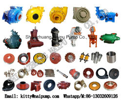 Mineral Processing Auxiliary Machinery Slurry Pump Wear Spare Parts