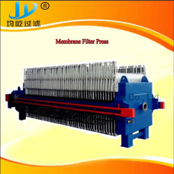 Membrane Filter Press to Dewater The Slurry in The Deying and Printing Industry