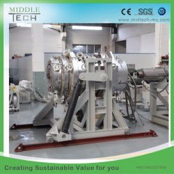 Plastic PVC/PE/PP/PPR Water& Electric Conduit Pipe/Tube/Profile/Sheet (extruder, haul off, cutting winding, belling) Extrusion/Extruding Making Machine