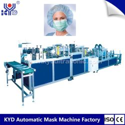 Ultrasonic Cleaning Sauna Surgical Cap Making Machine