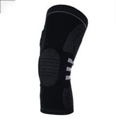 Flexible Weaving Gel Cushioned Sports Knee Support for Anti-Collission for Protection Knee